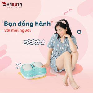 may massage chan hmf 250 xanh